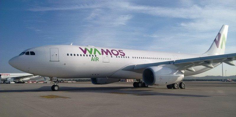 Wamos Air crecerá para el verano 2017 un 60% en flota y un 40% en capacidad