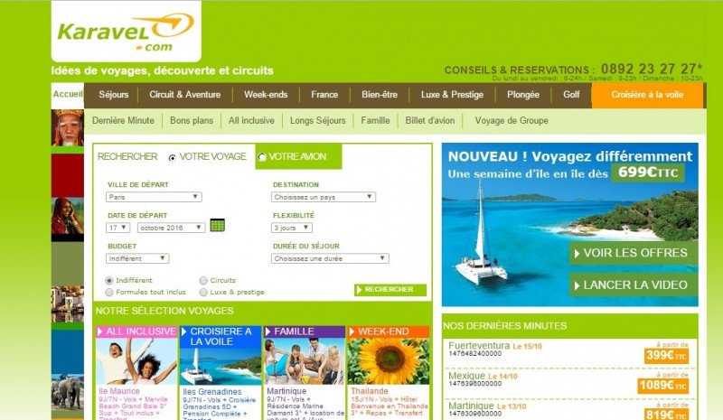 eDreams Odigeo lanza una marca blanca junto a Karavel en Francia