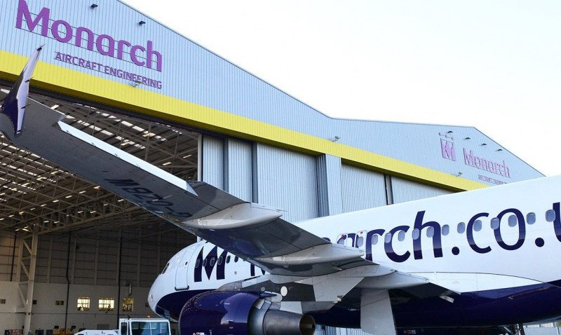 Monarch recibe una inversión de 180 M € con la que podrá seguir operando