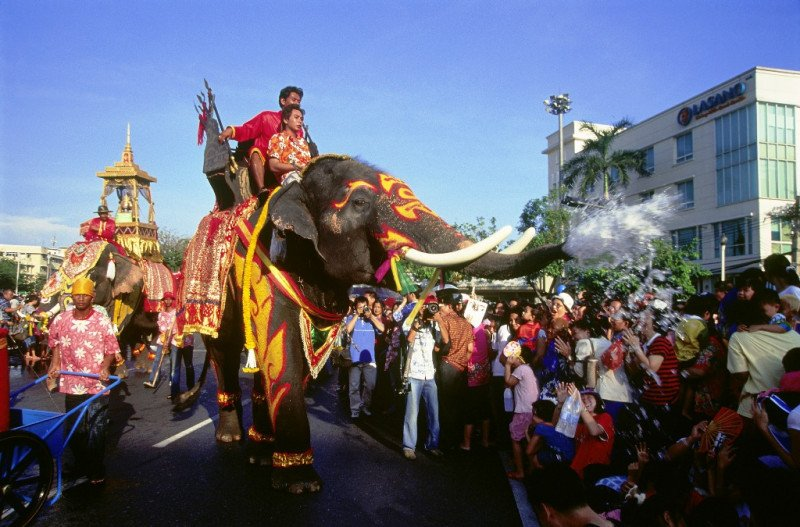 Imagen de archivo de un festival celebrado en Bangkok.