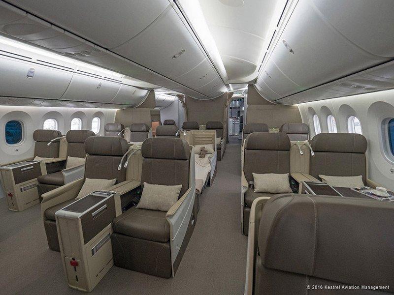 De Boeing 787 a palacio volador