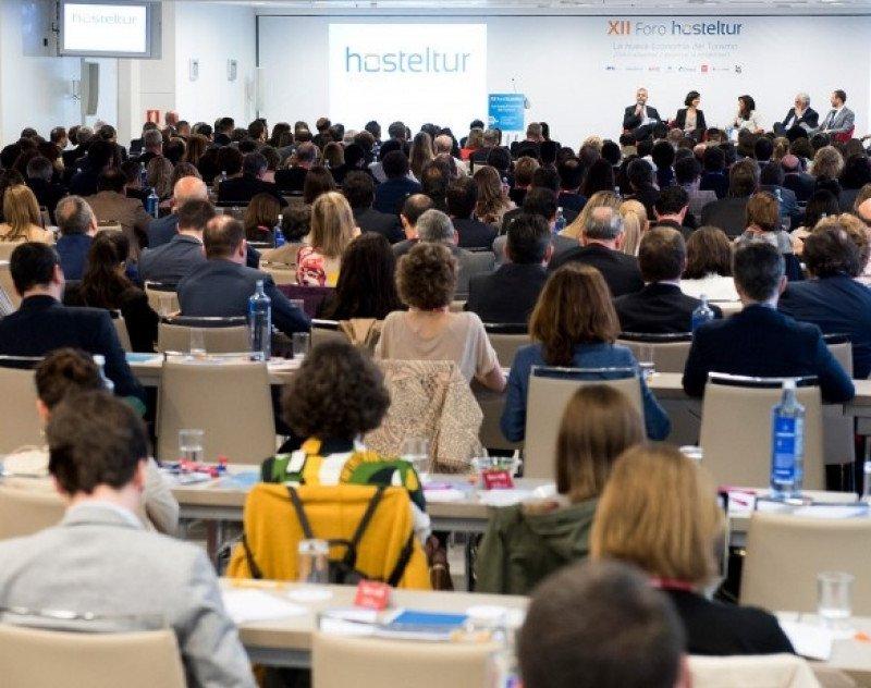 Un momento de la última edición del Foro que cada año organiza Hosteltur en Madrid.
