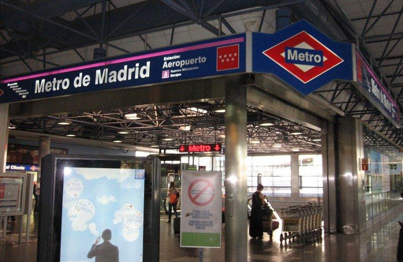 El Metro de Madrid cerrará la línea del aeropuerto, después de Fitur