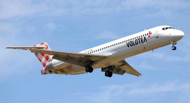 Volotea aumenta su oferta en Ibiza un 42%