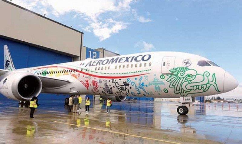 Aeroméxico presenta el Boeing 787-9, el avión más moderno del mundo