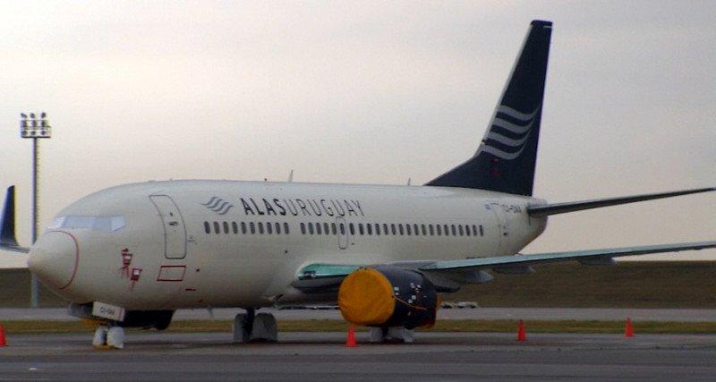 Alas Uruguay suspende sus operaciones; tiene que devolver su único avión