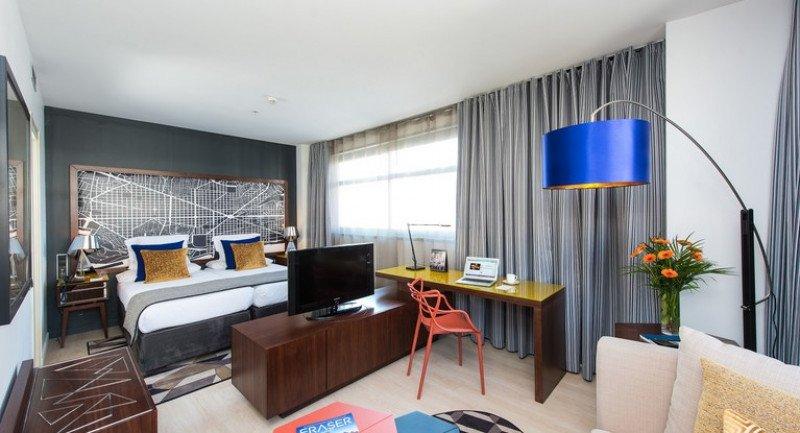 El Capri by Fraser Barcelona, con 97 habitaciones, ha superado en un 23% las expectativas de facturación con una ocupación media del 85%.
