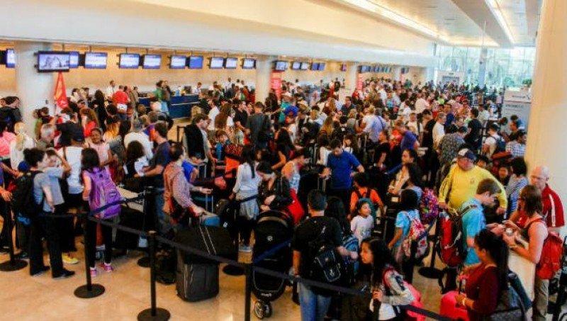El aeropuerto de Cancún recibe más pasajeros internacionales que el de Ciudad de México.