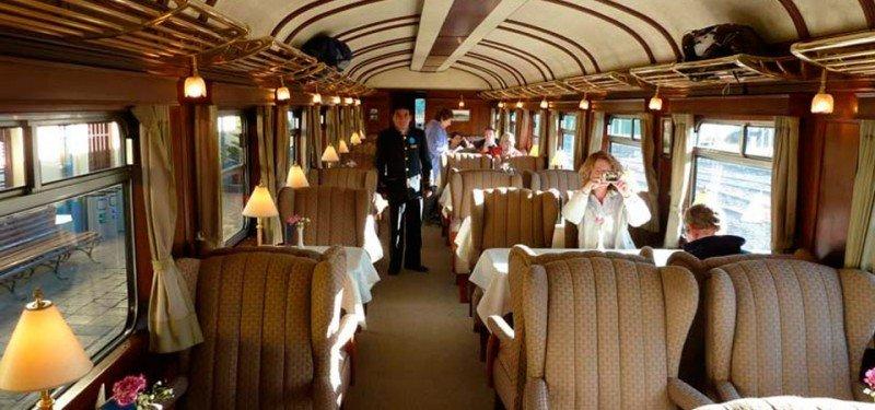 El primer tren nocturno de lujo recorrerá el sur de Perú