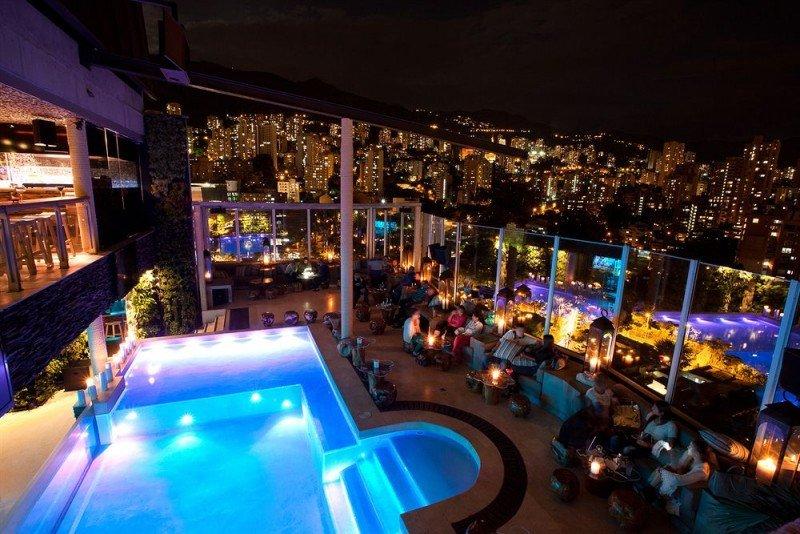 La hotelería está en plena expansión en Medellín.