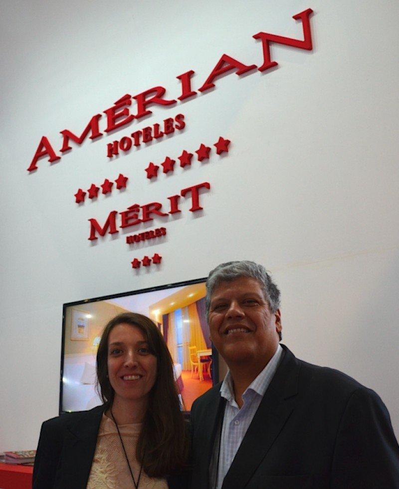 Natalia Waldesbuhl (Gerente de Marketing) y José Ramos (Director de Operaciones).