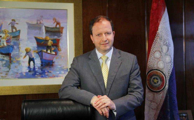 Carlos Fernández Valdovinos, presidente del Banco Central del Paraguay.