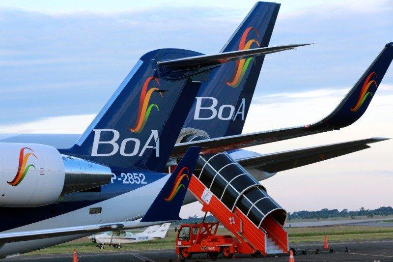 BoA amplía su flota y alcanza 120 vuelos semanales