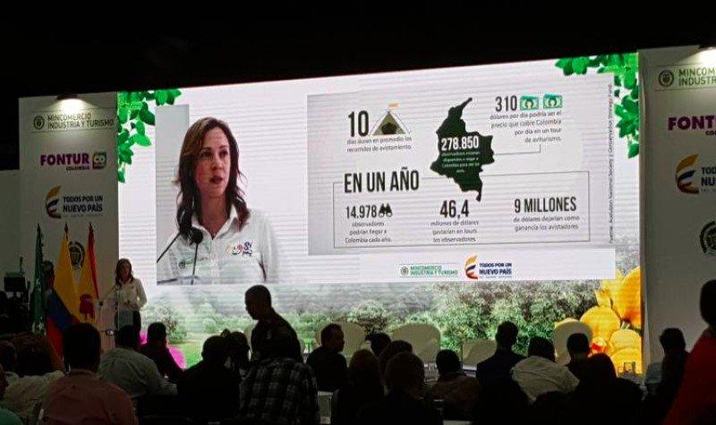 Colombia espera ganar US$ 6.000 millones con el aviturismo en 2018