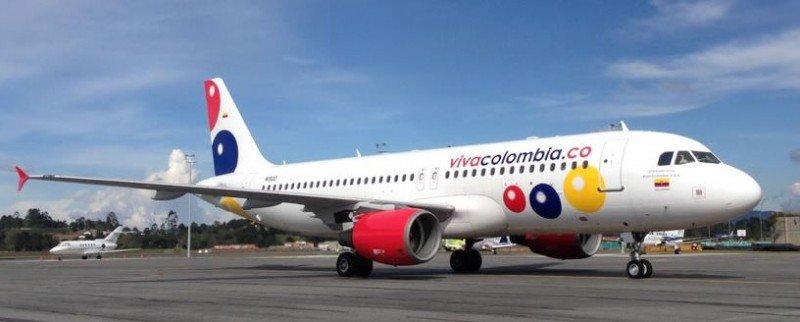 VivaColombia operará vuelos internos en Perú en 2017