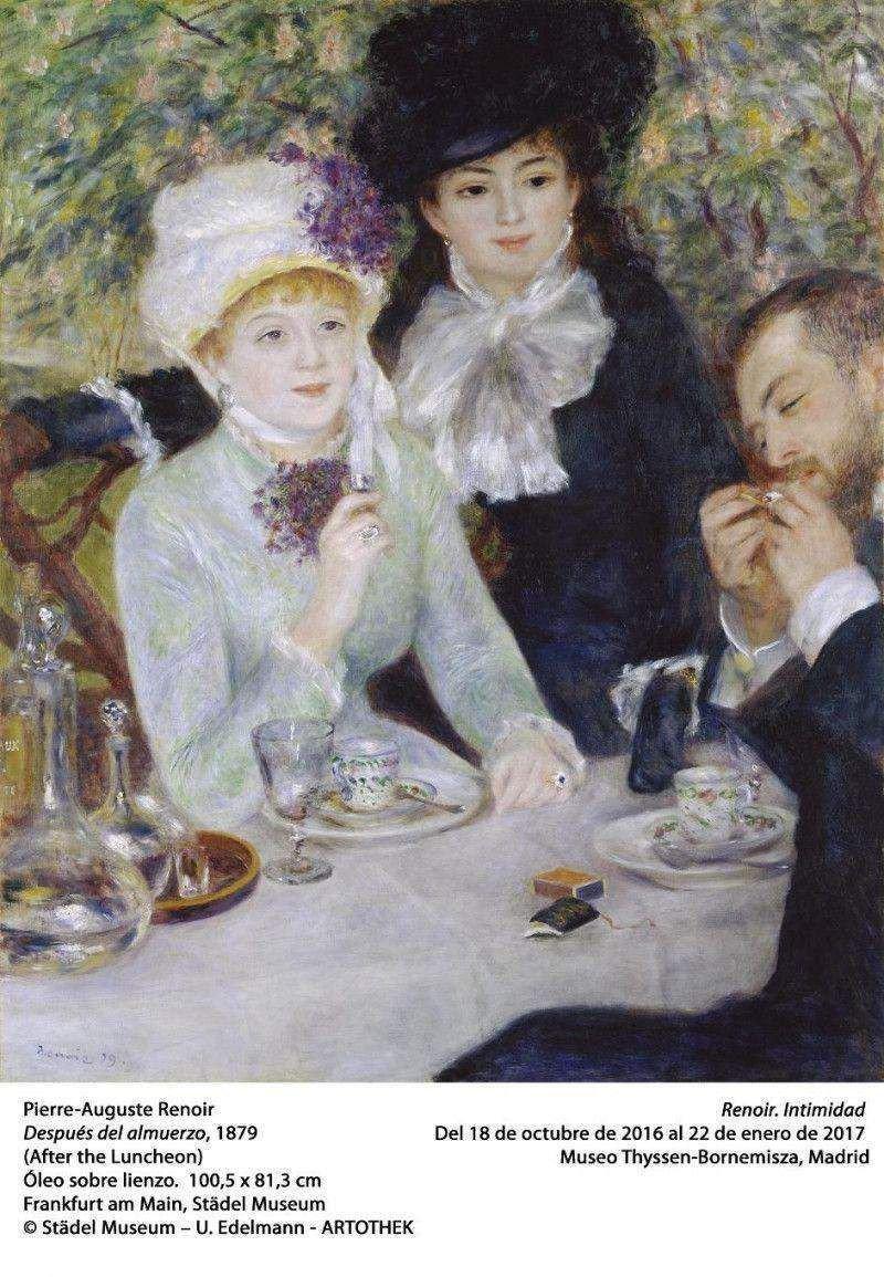 El Museo Thyssen-Bornemisza reúne a Renoir y Bulgari en exposición temporal