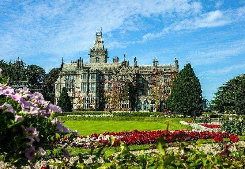 Irlanda logró el mayor incremento del RevPar. Adare Manor Hotel.