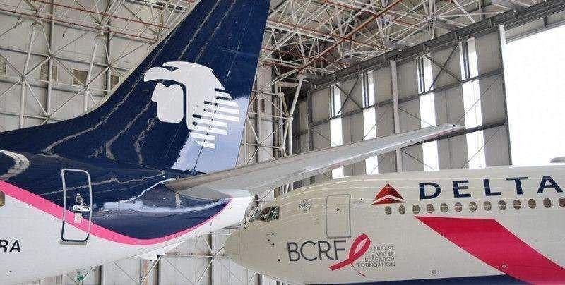 Delta y Aeroméxico: aprobación a su joint venture mientras cedan slots