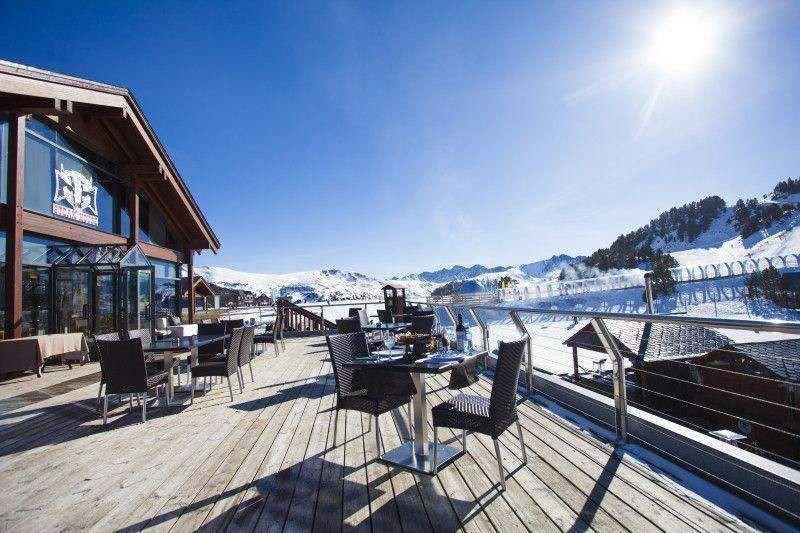 Entre las novedades de este año, las estaciones de esquí apuestan fuerte por la gastronomía -en la foto una imagen de Grandvalira-.
