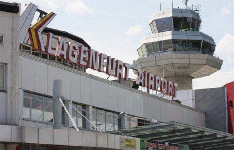 El Aeropuerto de Klagenfurt, en el sur de Astria.