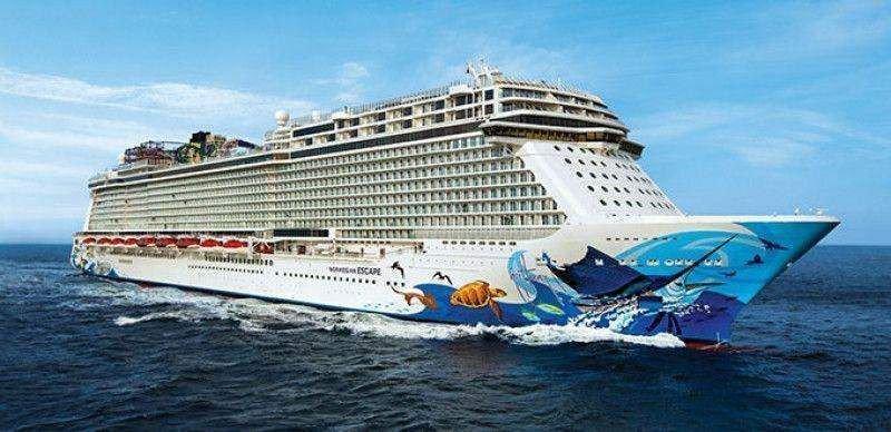 Norwegian Cruise Line ganó 314 M € en el tercer trimestre, un 36% más