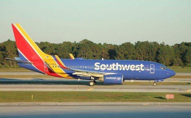 Southwest Airlines opera la ruta a Cuba con un Boeing 737-700.