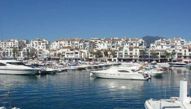Puerto Banús, en Marbella (Málaga).