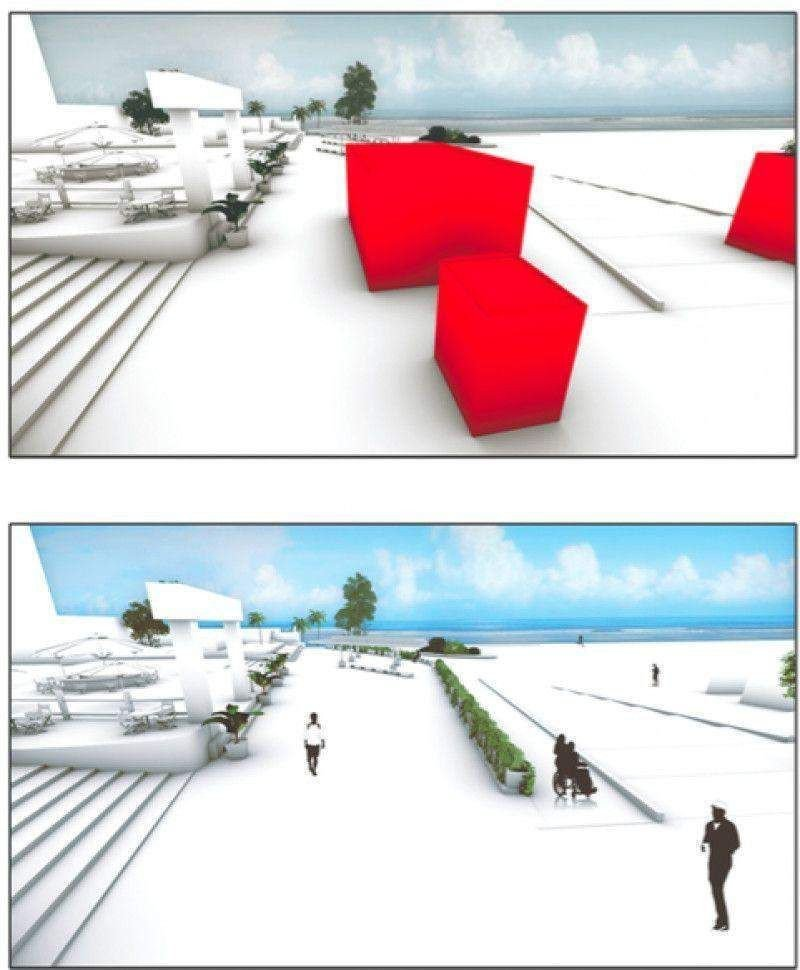 Simulación de las instalaciones una vez reformadas.