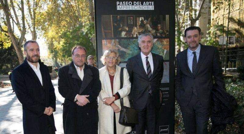 Ayuntamiento, museos y Turismo de Madrid han creado el circuito Paseo del Arte.