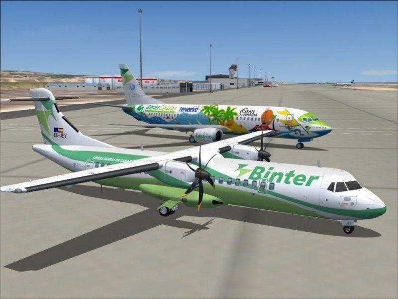 Binter CV, primera aerolínea española que opera vuelos domésticos en África