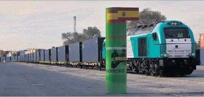 El tren más largo del mundo, China y España, transportará pasajeros
