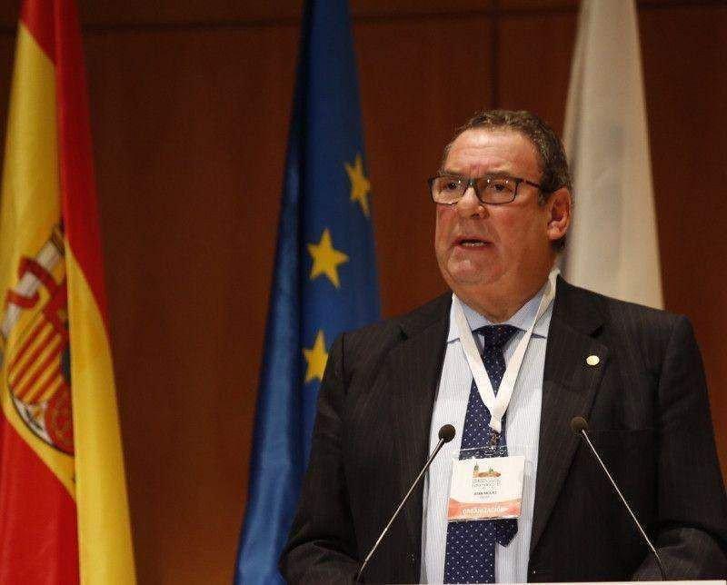 El presidente Molas en su intervención en la inauguración oficial del Congreso de Hoteleros Salamanca 2016.