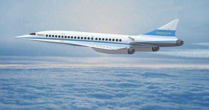 Desarrollan un avión supersónico cuyos vuelos costarán 4.700 €