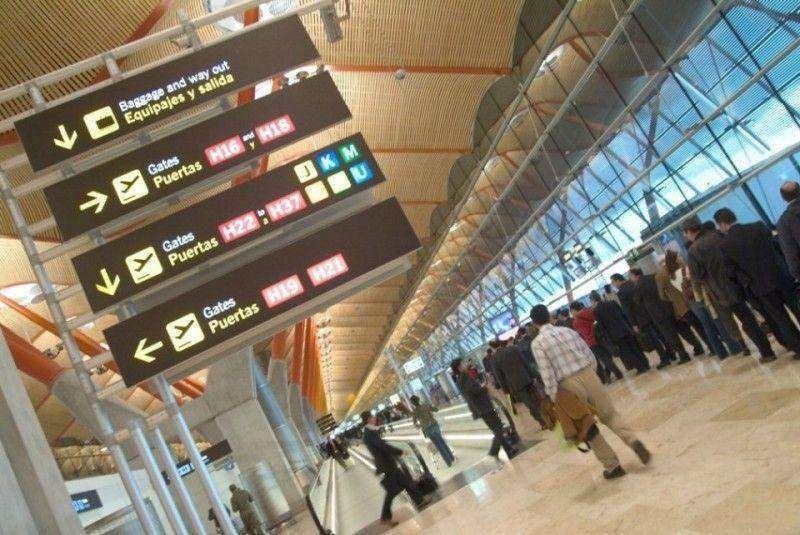 El Aeropuerto de Madrid-Barajas es líder en tráfico de las compañías tradicionales.