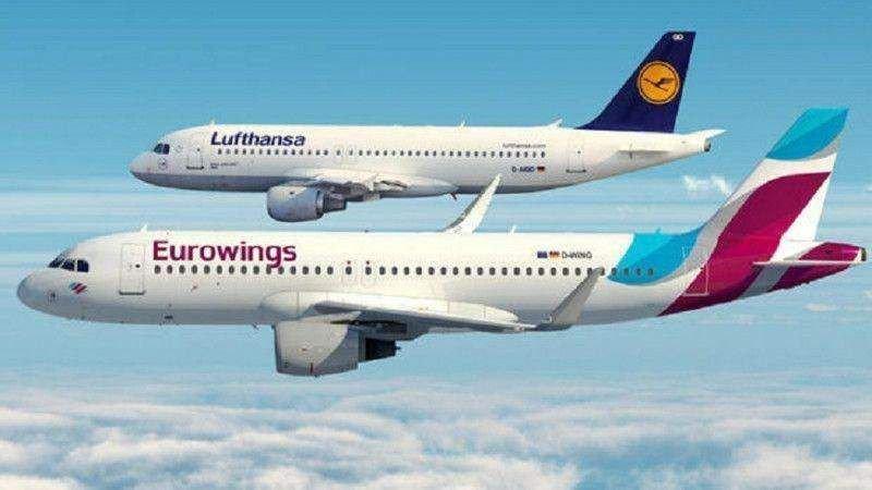 Los pilotos de Lufthansa y los TCP de Eurowings, primera huelga esta semana