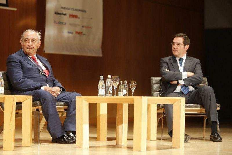 Juan José Hidalgo compartió mesa con Antonio Garamendi, presidente de Cepyme.