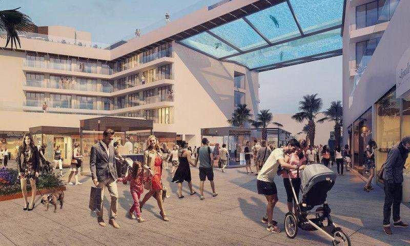 El hotel, de 4 estrellas y el único de nueva construcción de Meliá en la zona, dispondrá de 270 habitaciones, restaurante y piscinas colgantes en la cubierta-terraza superior con vistas al mar.