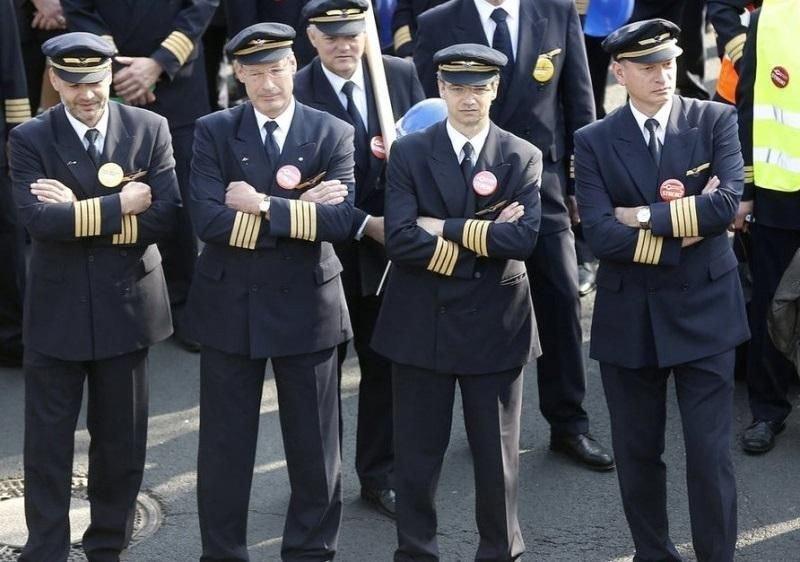 Los pilotos de Lufthansa extienden la huelga hasta el sábado