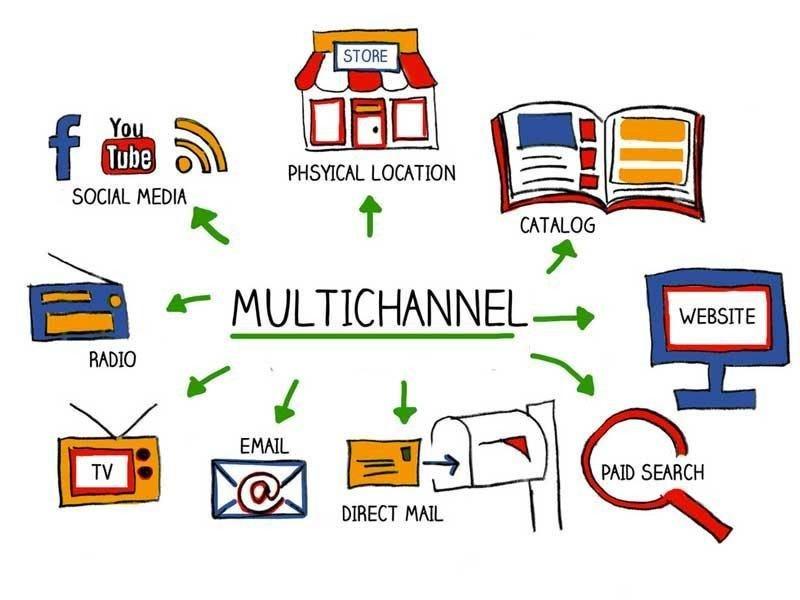 La estrategia multicanal busca la distribución del producto/servicio independientemente del canal elegido para su promoción o para su distribución.