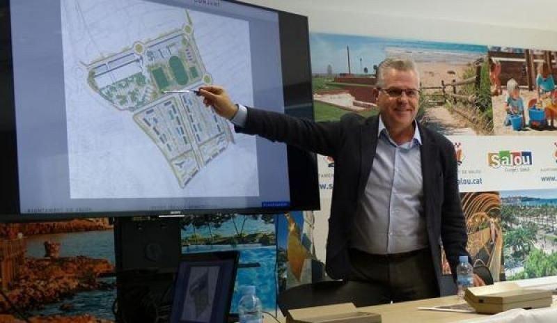 El alcalde de Salou, Pere Granados, en la presentación del proyecto.