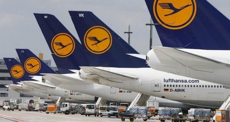 Lufthansa cancela 1.700 vuelos que dejan en tierra a unos 180.000 pasajeros