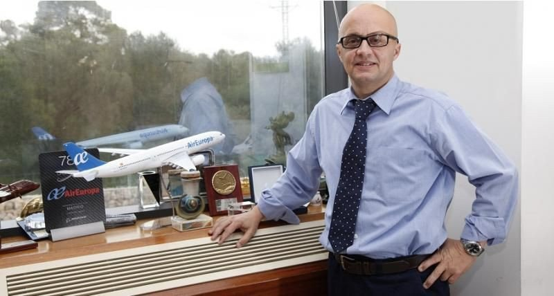 Richard Clark, nuevo subdirector general de Air Europa