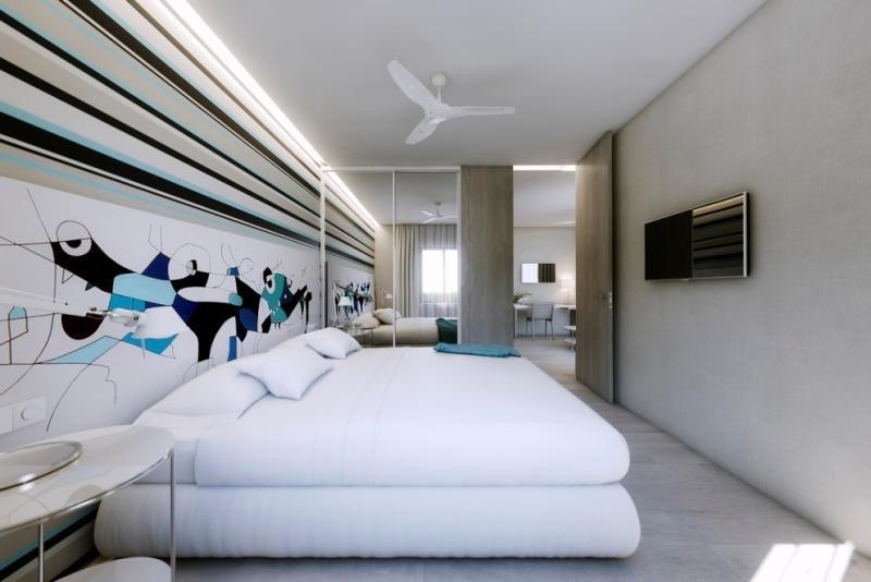 Todas las habitaciones del nuevo complejo son suites, aunque de cuatro categorías.