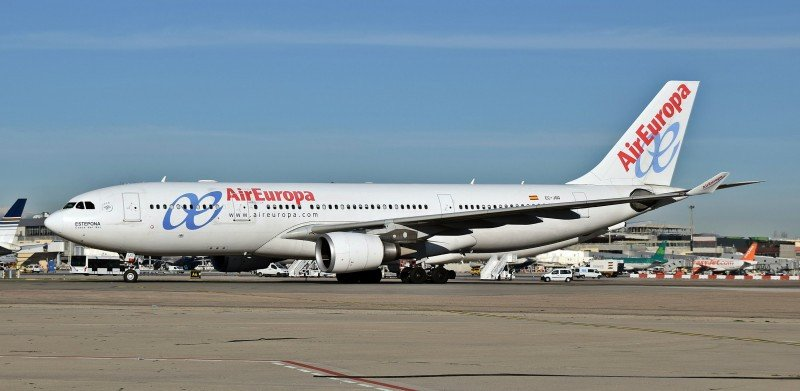 Air Europa culmina la instalación de wifi en aviones de largo radio