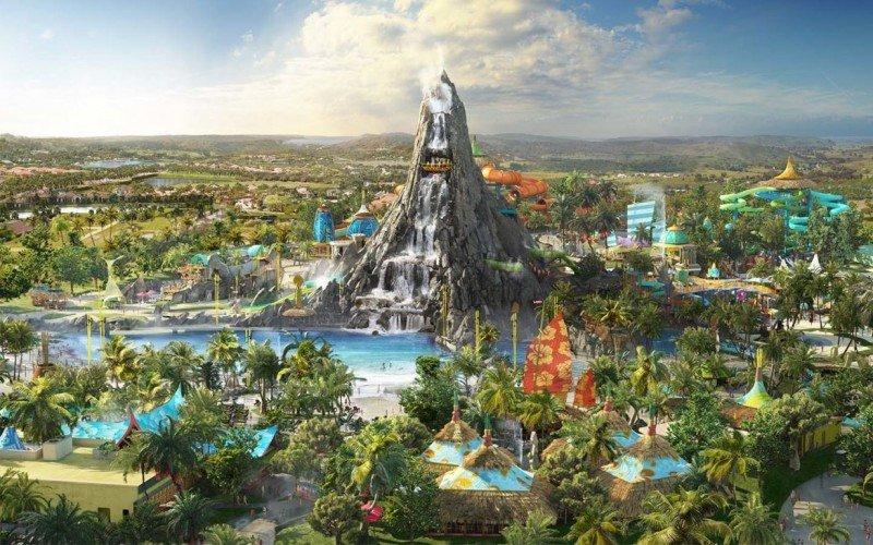 Universal aspira a revolucionar parques acuáticos con Volcano Bay en Orlando