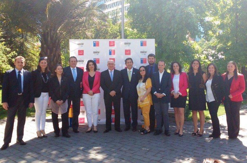 Lanzamiento de la décima edición de FIEXPO, por primera vez en Chile.