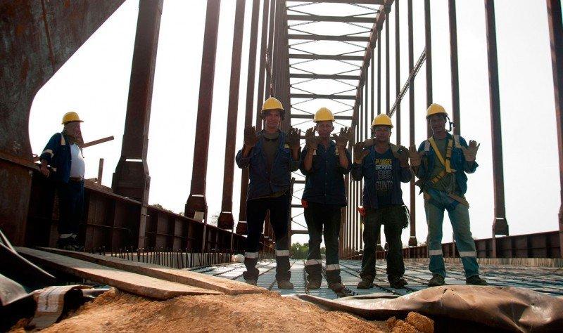 La construcción, sector clave en el impulso de la economía colombiana.