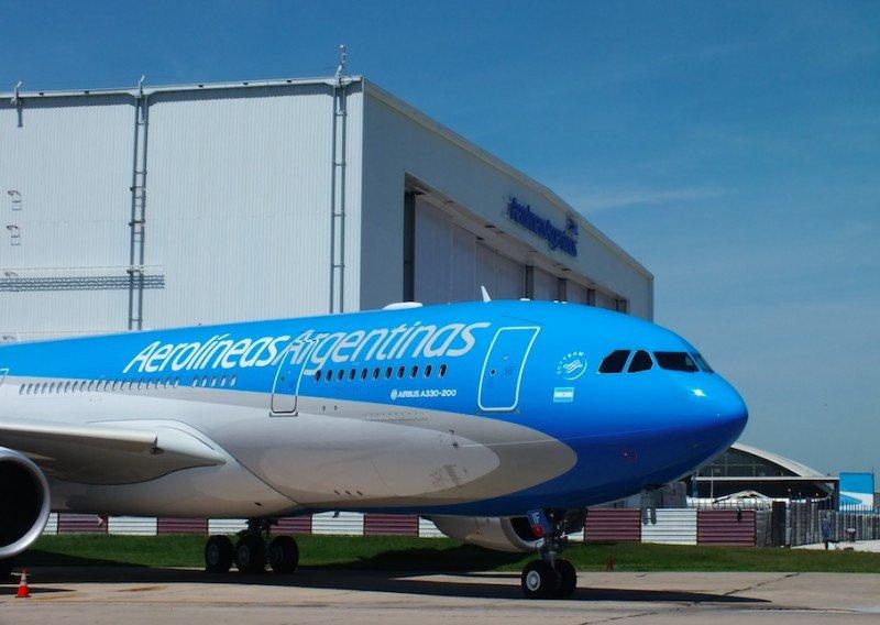 Aerolíneas Argentinas suma nuevo Airbus para operar rutas internacionales