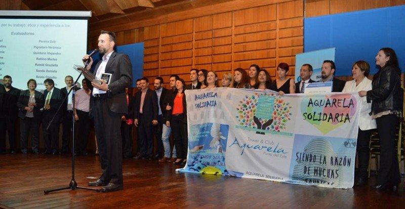Entrega del Premio Nacional de Calidad a Torre Aquarela.