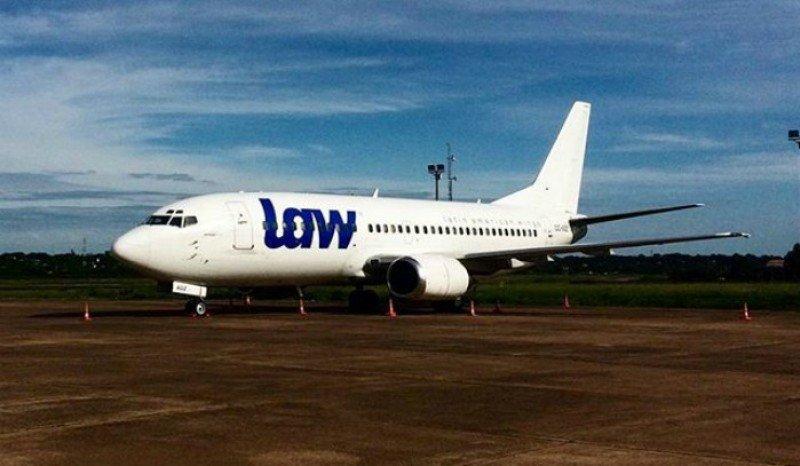 Dos de los tres aviones de LAW son los que usó Alas Uruguay hasta hace pocas semanas.